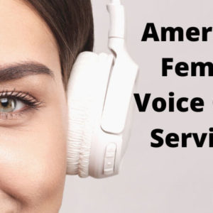American Female Voice