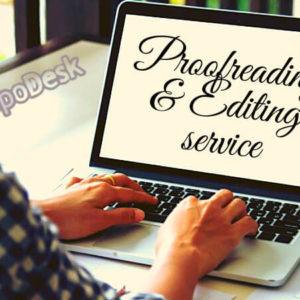 Proofreading Editing